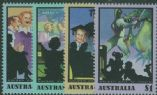AUS SG1295-8 Australian Radio Broadcasting set of 4